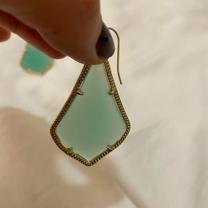 Kendra Scott Alex Earrings in Chalcedony